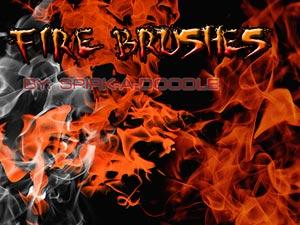 10 Fire Brush yang menakjubkan